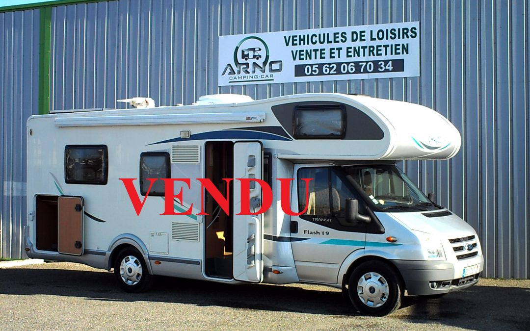 CHAUSSON FLASH 19 LIT CENTRAL ( VENDU )
